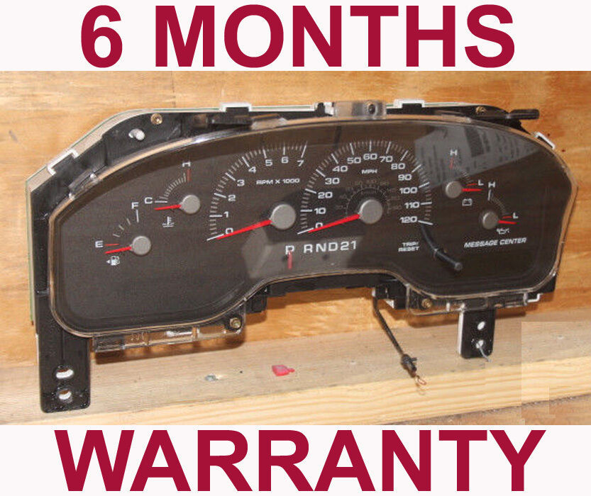 Primary image for 2004-2005 Ford Expedition Instrument Cluster w/ Message Center - 6 Month WARR