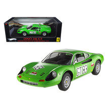 Ferrari Dino 246 GT #83 1000km of 1971 Nurburgring Elite Edition 1/18 Di... - $107.29