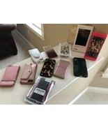 Lot of 12 Mixed IPhone Cases Pre Owned Glitter Pleather Leopard Speck Ca... - $79.20