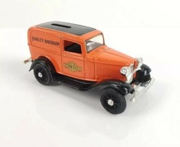 """Harley Davidson Cycles 1932 Ford Panel Drlivery Truck Dime Bank ERTL 4"""" ... - $28.12"""