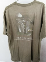 Multi Tasking Quattro Cose A Once Bass Pro Shops Distreesed T-Shirt Tagl... - $12.55