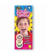 Kuchle TONGUE TATTOOS fun designs kid's birthday party 20ct.-FREE US SHI... - $8.90