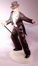 1984 FRED ASTAIRE Collector FIGURINE Image of Hollywood - $23.75