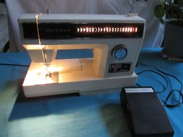 VTG Kenmore Convertible 158 17911 Sewing Machine With Manual & Accessor... - $137.63