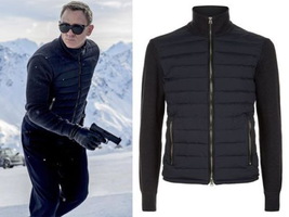 SPECTRE JAMES BOND STYLE NAVY BLUE JACKET - ALL SIZES AVAILABLE - $84.99