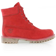 "Timberland WOMEN'S Premium ""ICON 6"" Boots NEW AUTHENTIC Ruby Red A1JGJF41 - $100.00"