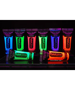 PaintGlow 10ml/.34oz Glow in the Dark Face and Body Paint- 8 Piece Varie... - $23.95