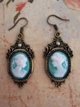 Spell Bound Cameo Earrings Cast for Increased Beauty Attraction Self Con... - $39.00