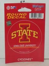 Wincraft Iowa State University Cyclones Round Decal NCAA College - $9.50