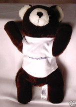 WASHINGTON MUTUAL BANK Plush Stuffed Animal TOY BEAR Defunct Bank Advert... - $15.31