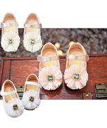 Baby Girls Sparkly Jewel Christening Shoes Party Shoes 3 6 9 12 15 18 Mo... - $14.54