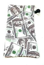 5 PACK $100 DOLLAR BILL CASH MONEY SUNGLASSES EYEGLASSES CLOTH POUCH BAG... - $12.30