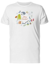 Set Of Christmas Items And Quote Men's Tee -Image by Shutterstock - $311,55 MXN+