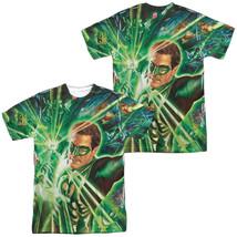 Authentic DC Comics Green Lantern Corp Burst Sublimation Front Back T-shirt top - $30.99+