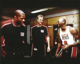 Magic Johnson Larry Bird Michael Jordan Olympics 11X14 Color Basketball ... - $14.95