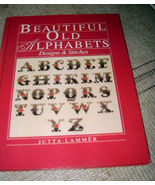 Beautiful Old Alphabets Designs and Stitches - $7.00