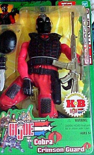 GI Joe SpyTroops  Cobra Crimson Guard (KB excl)12 inch