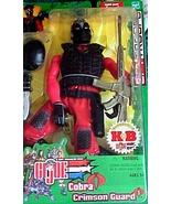 G. I. Joe - SpyTroops  Cobra Crimson Guard (KB excl) 12 inch  - $75.00