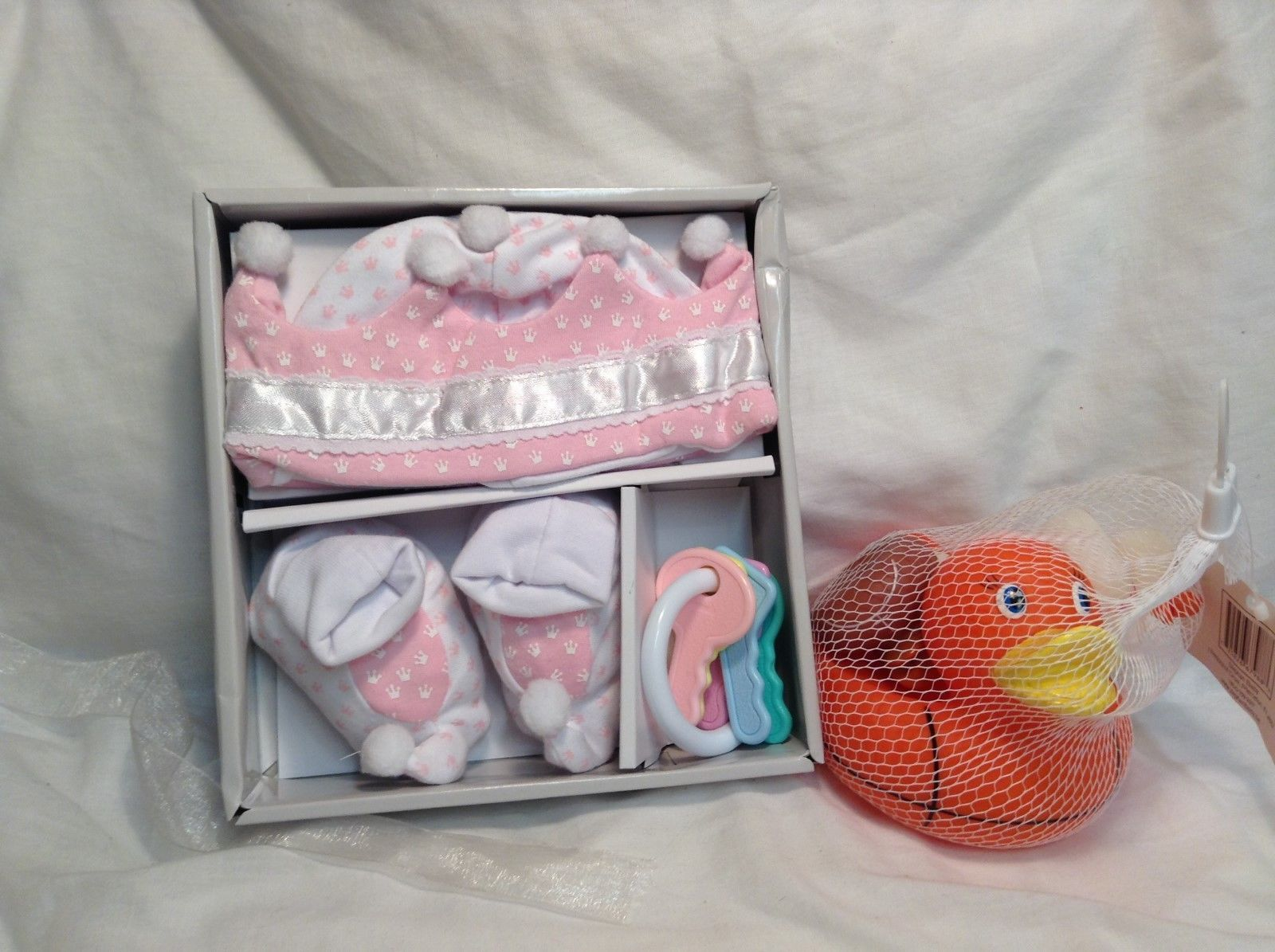 NEW Stephan Baby Royal Tee's Clothing Set w Rubber Ducky Bath Toy