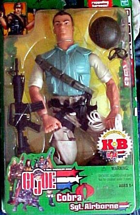 GI Joe vs Cobra Sgt. Airborne  -  KB Exclusive by Hasbro