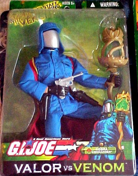 GI Joe Valor vs Venom Cobra Commander by Hasbro