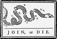 Join Or Die Flag 3' x 5' Banner