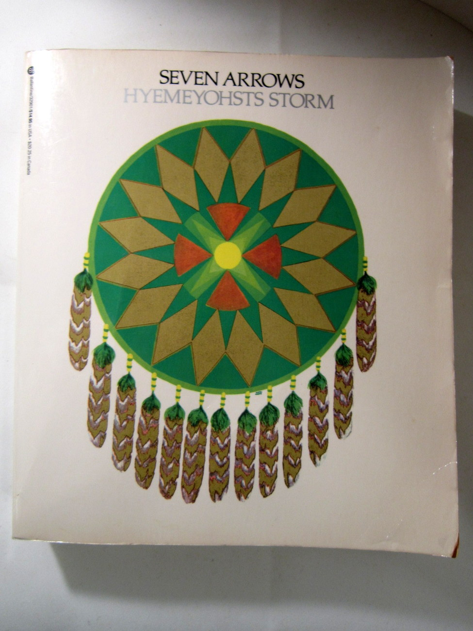Seven Arrows 1973 Novel by Hyemeyohsts Storm, Native American author