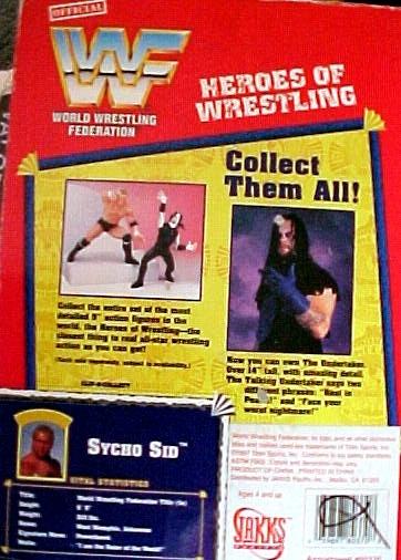 World Wrestling Federation Sycho Sid image 2