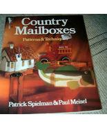 Country Mailboxes Patterns & Techniques Patrick Spielman - $5.50