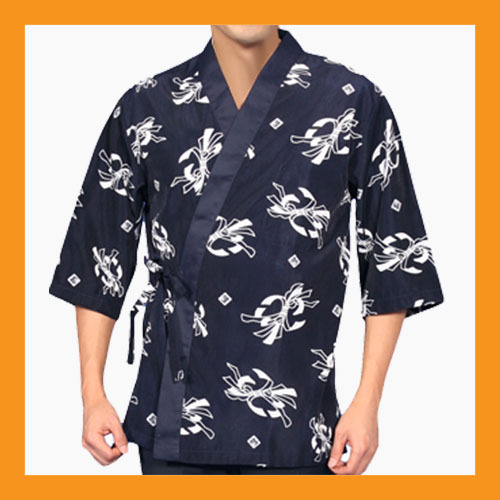 chef coats jacket sushi restaurant bar clothes uniform 4 size women men japanese - $24.00