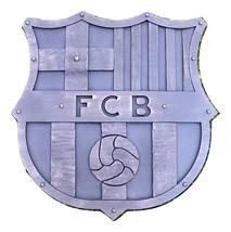 FC Barcelona logo - hand forged wall decoration - $279.00