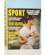 June 1968 Sport Magazine:  Carl Yastrzemski Boston Red Sox Cover - $9.99