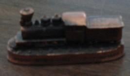 Nice Molded Aluminum Narrow Guage R.R. Durango Silverton Colorado Figurine - $9.89