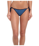 Marc by Marc Jacobs Radioactive Stripe String Bikini Blue Size XL MSRP $... - $23.36