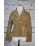 American Eagle Outfitters Women's Light Brown Corduroy Jacket - Size S/P - $12.60