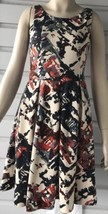 Anthropologie Maeve Multi Color Sleeveless Fit & Flare Party Dress Sz XS - $59.40