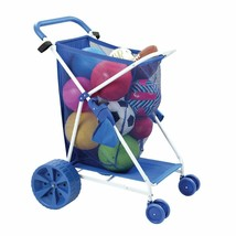 Folding Multi-Purpose Deluxe Beach Cart With Wide Terrain Wheels - Holds... - $79.99