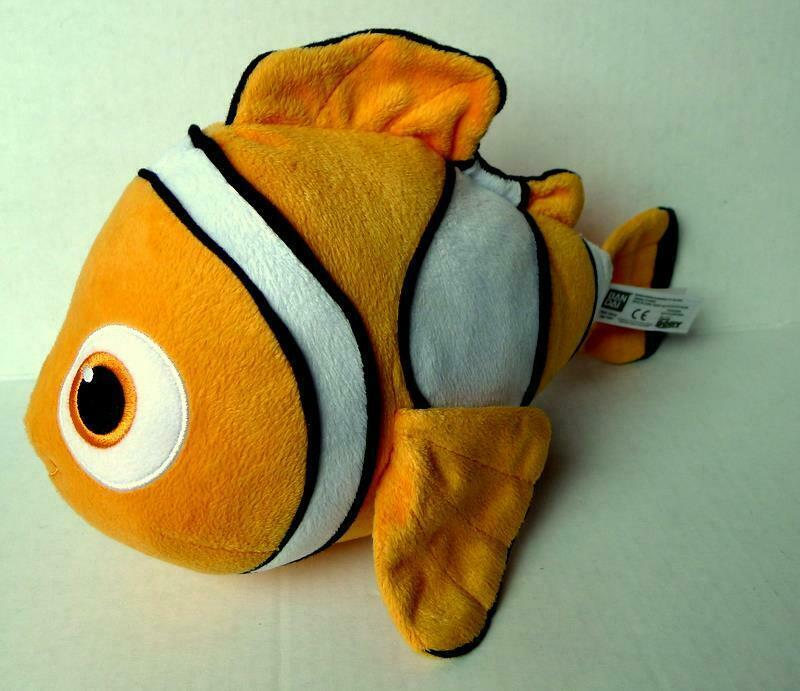 Primary image for Finding Dory NEMO Clown Fish Plush with sound