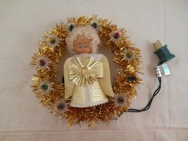 Lighted Angel with Garland Christmas Tree Topper - $14.69