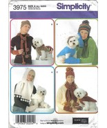 Simplicity Pattern 3975 Dog Coats & Misses Accessories 4 Styles 3 Sizes ... - $6.99