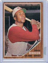 1962 Topps #350 Frank Robinson Reds  - $39.60