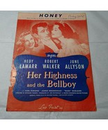 Vintage 1928 Honey Her Highness and the Bellboy Sheet Music  Leo Feist - $9.89