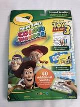 Disney Toy Story 3 Crayola Color Wonder Mess Free Coloring Kit - $19.79