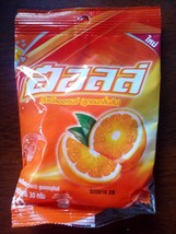 10 Packs Halls Double Orange Flavored Candy - $9.00