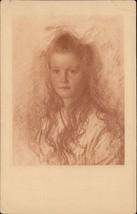 walter Schachinger portrait of a girl - $6.80