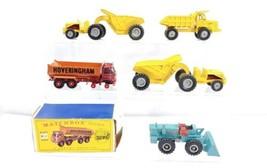 5 Matchbox King Size K-1, 5, (2) 7 & 10 Die Cast Toy Construction - $59.00