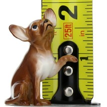 Hagen Renaker Dog Chihuahua Sitting Brown and White Ceramic Figurine image 2