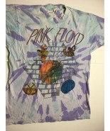 Vintage PINK FLOYD 1994 WORLD TOUR Wish you were here concert tiedye t-s... - $218.45