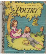 The Little Golden Book of Poetry by Corinne Malvern 1947 F Edition Book 38 - $14.84