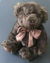 Bath And Body Works Small Cinnamon Teddy Bear Dark Brown Plush Stuffed Animal - $34.64